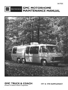 1977 & 1978 Maintenance Manual Supplement